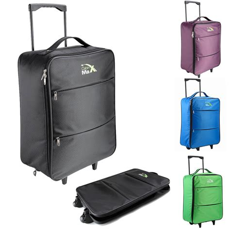 cabin max stockholm trolley cabin flight bag suitcase