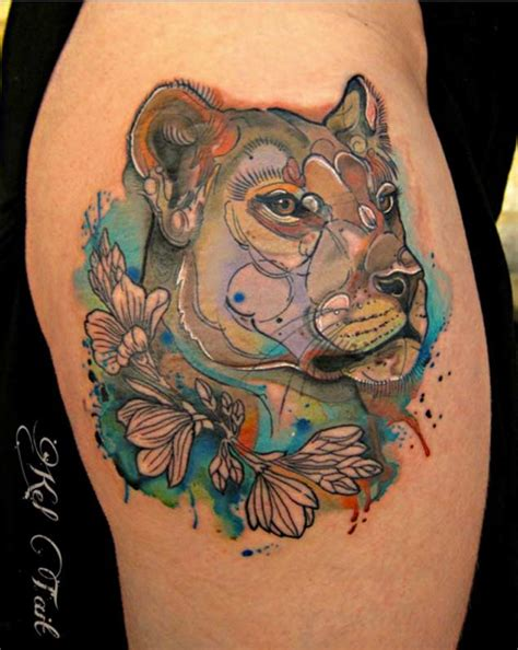 lion tattoo for girl 1000 ideas about lioness on