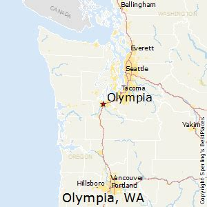olympia washington map best places to live in olympia washington