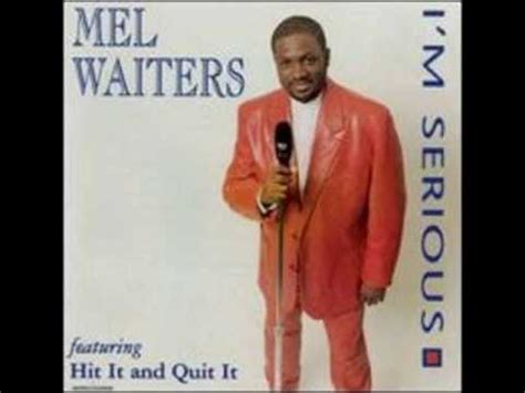 mel waiters swing out song mel waiters hit it and quit it wmv youtube
