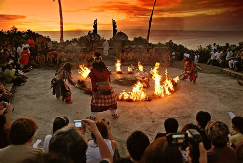 spot terbaik menikmati sunset  pulau bali smell