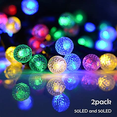 lalapao 2 pack solar string lights 72ft 22m 200 led 8 modes solar powered xmas outdoor lights waterproof starry christmas fairy lalapao outdoor string lights 28 images the best outdoor string lights get instant warm