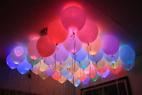 helium balloons with led lights amazing helium quality led balloons youtube