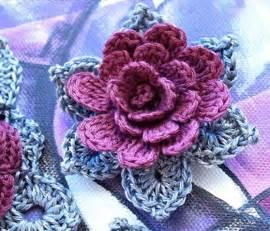 Curtains Leaves 3d Crochet Flower Pattern Crochet Kingdom