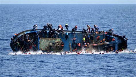 refugee boat sinks 2018 16 drown 30 missing as refugee boat sinks off north