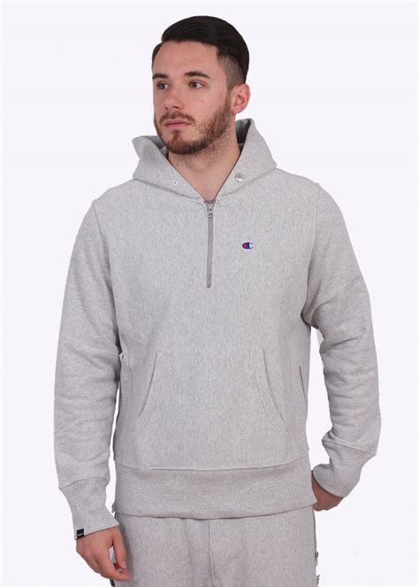Hoodie Abu Co One 1 chion x beams hoodie light grey triads mens from triads uk