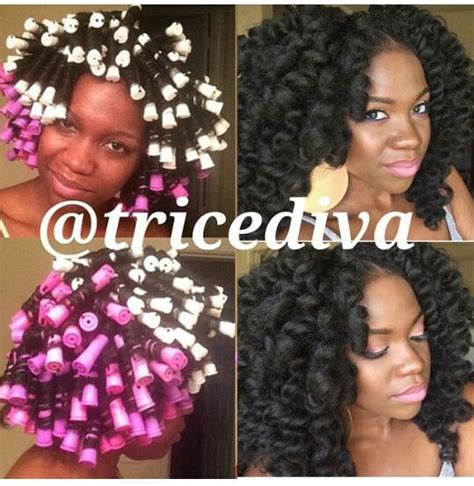how to perm rod crochet hair lovely perm rod set black hair information