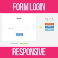 membuat form login javascript membuat form login responsive menggunakan css kursus web