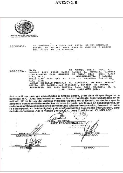 constancia de no arresto df indigenous mayan justice in the southeast of mexico