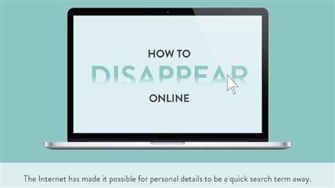 how to escape the internet and disappear online