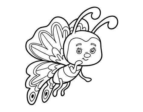 imagenes de mariposas para niños dibujo de mariposa coqueta para colorear dibujos net