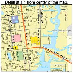 Map Naples Florida by Naples Florida Street Map 1247625