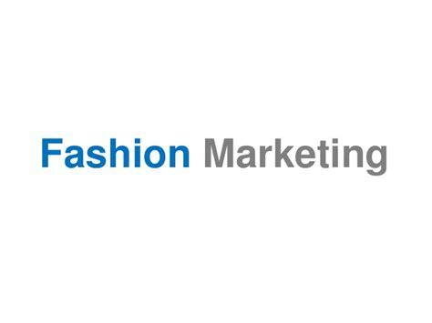 Mba Fashion Marketing by Fashion Marketing Branding