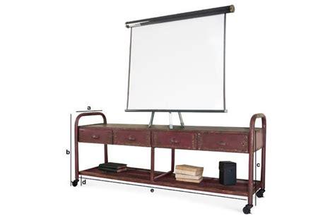 meuble tv industriel patin 233 un meuble pratique et pib