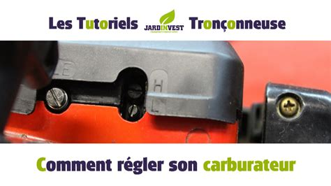 Reglage Carburateur Tillotson Tronconneuse by Tutoriel 231 Onneuse N 176 12 Comment R 233 Gler Le