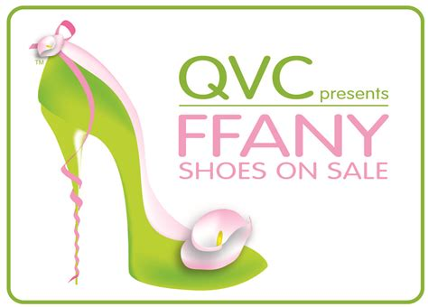 Qvc Presents Ffany Shoes On Sale A Benefit For Breast Cancer Research And Initiatives logo ffany sos event jpg