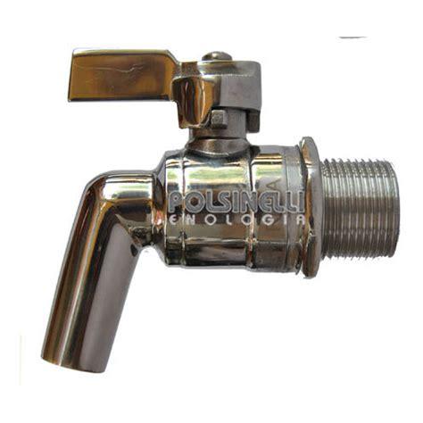 rubinetto inox rubinetto inox 3 4 quot vino polsinelli enologia
