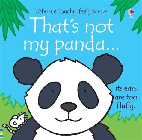panda picture book that s not my panda at usborne children s books