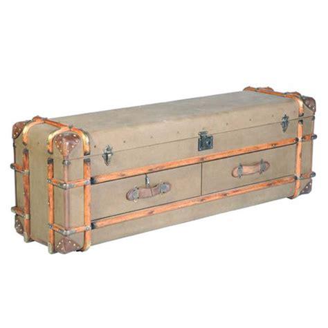 end of bed trunk timothy oulton globetrekker end of bed trunkstocktons