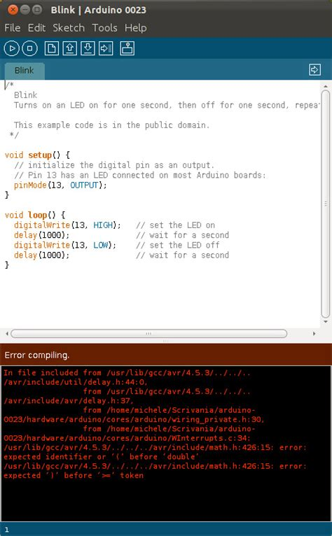 Tutorial Arduino Ubuntu | installare arduino 0023 su ubuntu 11 10 oneric ocelot