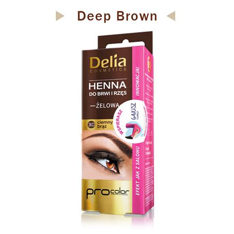 henna eyebrow tattoo kit delia pro henna gel for eyebrows lashe makeup