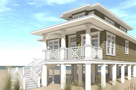 beach front house plans beach style house plan 3 beds 2 baths 1581 sq ft plan 64 227