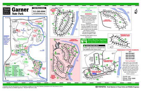 garner state park map garner state park facility map garner mappery