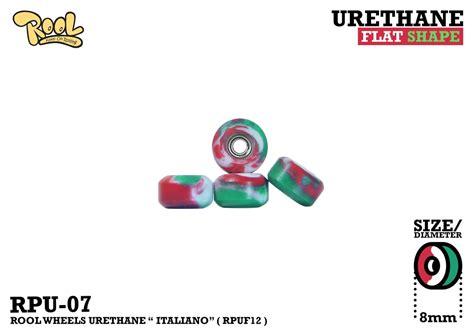 Rool Wheels Single Bearing Corn Rpu07 Rpuf04 urethane flat shape planktoon fingerboard