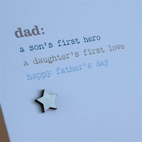 sentimental fathers day cards sentimental s day card by cloud 9 design