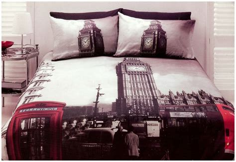 london bedding london quilt doona cover set queen size bedding big ben uk