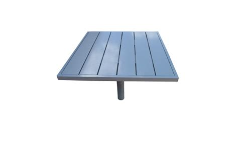 Panci Stainless 20 Cm Ada Flat aluminum table w aluminum boards in ground mount ada table w umbrella 1087
