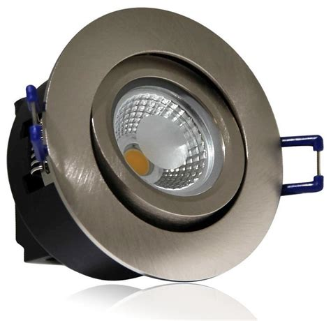 directional recessed led lighting directional 5watt cob led recessed ceiling light silver