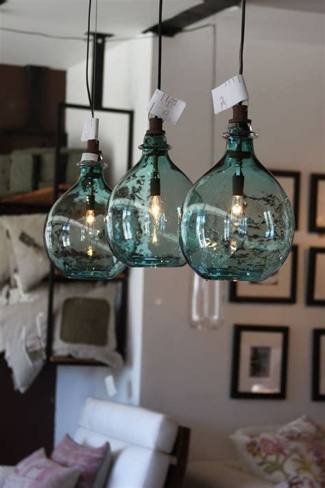Sea Glass Pendant Lighting Sea Glass Globe Lights Light It Up Pinterest Lighting Glasses And Glass Globe