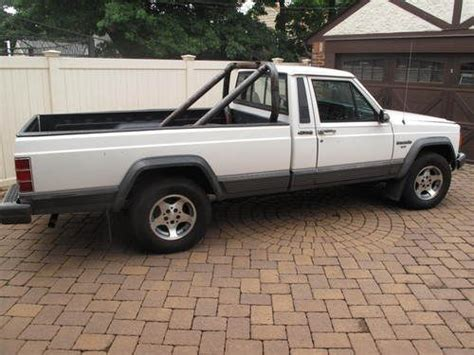4 Door Jeep Comanche Find Used 1989 Jeep Comanche Pioneer Standard Cab 2
