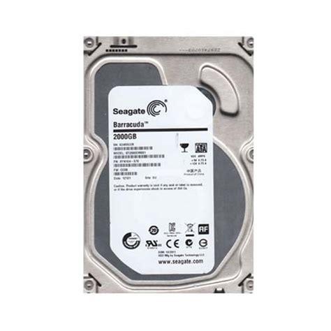 Harddisk Seagate Barracuda 2tb seagate 2tb sata desktop drive st2000dm001