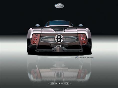 pagani back 2005 pagani zonda f rear 1600x1200 wallpaper
