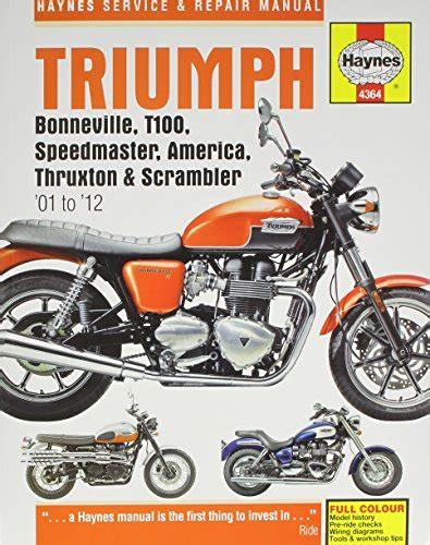 triumph bonneville t100 speedmaster america thruxton