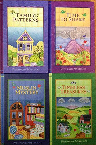 Patchwork Mysteries - just2bless books n more trusted by 195 customers in