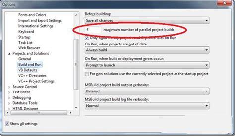 visual studio 2010 reset settings command visual studio 2010中c 并行构建调优