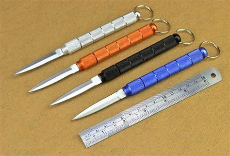Tang Mini Dengan Pisau Swiss Dan Senter 1 edc stealth swiss knife self defense tools pisau