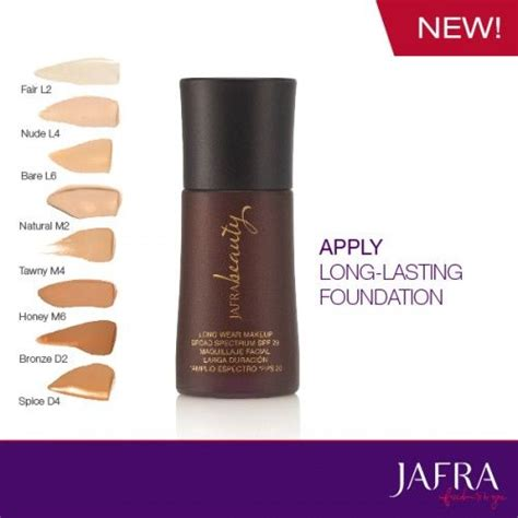Eyeliner Jafra all new wear makeup broad spectrum spf 20 with 8 new