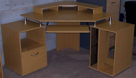 beech corner computer desk office furniture liverpool filing cabinets desks chairs