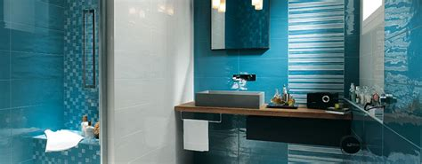Blue Bathroom Tile Ideas niebieska azienka pomys y centrum aran acji