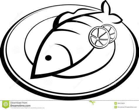 cooked fish coloring page fried fish clipart clipart panda free clipart images