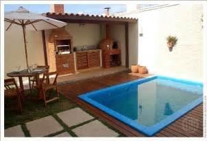 Kitchen Design For Small Kitchens Decora 231 227 O Para Quintal Pequeno Com Piscina Gardens