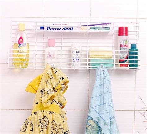 Rak Handuk Kamar Mandi Toilet Rack Aluminium Gantung Serbaguna Murah jual rak kamar mandi