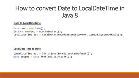 Calendar Class Java How To Convert Date To Localdatetime In Java 8 Exle