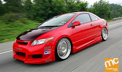 Modified Honda Civic Si 2006 Modified Cars