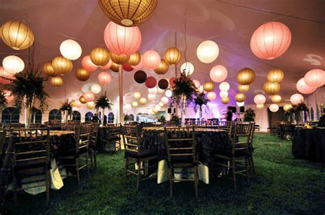 Planning a garden wedding: Decorations   ron&eileen