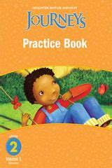 journey s books journeys practice book consumable volume 1 grade 2